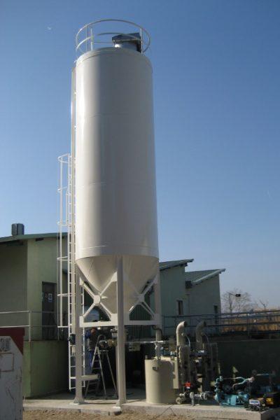 silo de almacenamiento